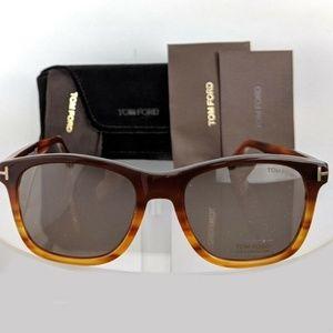 Tom Ford Sunglasses Dark Brown w/Brown Lens